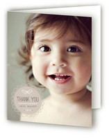 Scalloped Seal Thank You Cards