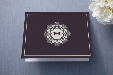 Grand Lace Thank You Cards