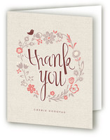Garden Lullaby Thank You Cards