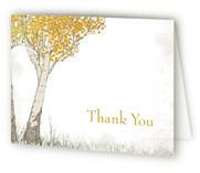 Fall Tranquility Thank You Cards