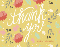 Southern Hospitality Thank You Cards