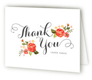 Bouquet Thank You Cards