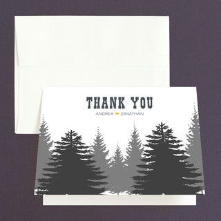 Enchanted Forest Thank You Cards