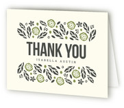 Bold Botanicals Thank You Cards