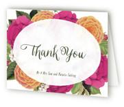 Vintage Botanicals Thank You Cards