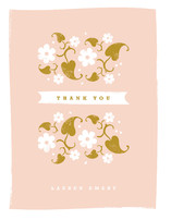Country Garden Thank You Cards