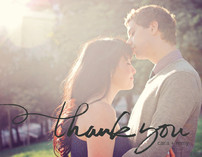 Quickly Penned Thank You Cards