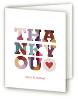 Big Diamond Thank You Thank You Cards