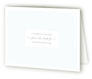Businesslike Thank You Cards
