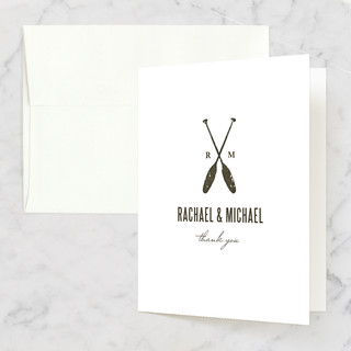Lakeside Oars Thank You Cards
