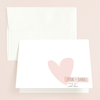 Simply Love Folded Thank You Card