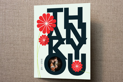 Akina Thank You Cards