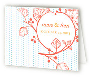 Bright Autumn Berry Thank You Cards
