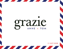 float + grazie Thank You Cards