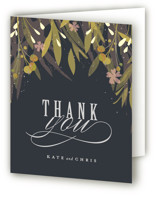 Floral Crown Thank You Cards