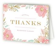 Floral Vignette Thank You Cards