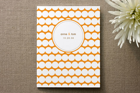 Modern Dots Thank You Cards by Oscar + Emma