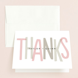 Love Lettered Thank You Cards