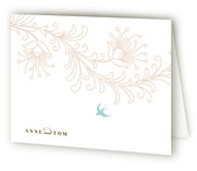 Pretty Little Bird Thank You Cards