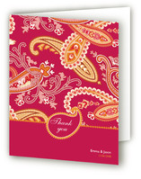 Paisley Passion Thank You Cards
