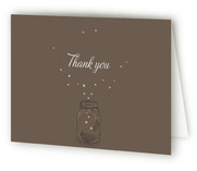fireflies Thank You Cards