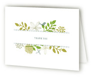 Fling Thank You Cards