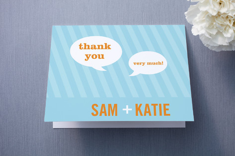 Smart Conversation Thank You Cards
