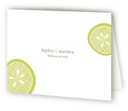 Lemon Drop Thank You Cards