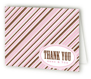 Tie Stripe Thank You Cards