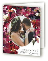 Tidal Blooms Thank You Cards