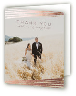 Mood Foil-Pressed Thank You Cards