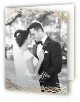 Embrace Foil-Pressed Thank You Cards