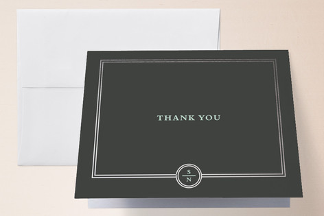 Notable Foil-Pressed Thank You Cards