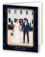Classic Affair Foil-Pressed Thank You Cards