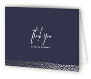 Sprinkled Love Foil-Pressed Thank You Cards
