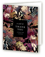 Fantasy Foil-Pressed Thank You Cards
