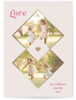Diamonds Foil-Pressed Valentine Cards