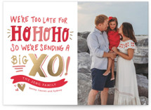 Big XO Foil-Pressed Valentine Cards
