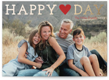 Happy Love Day Foil-Pressed Valentine Cards