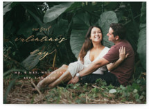 Corinthian Foil-Pressed Valentine Cards