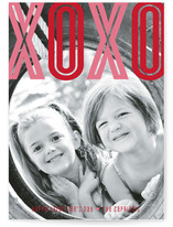 Bold XOXO Valentine's Day Cards