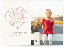 Live, Laugh, Love Valentine&#039;s Day Cards