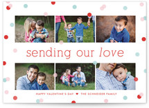 Confetti Valentine's Day Cards
