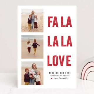 FA LA Love Valentine's Day Cards