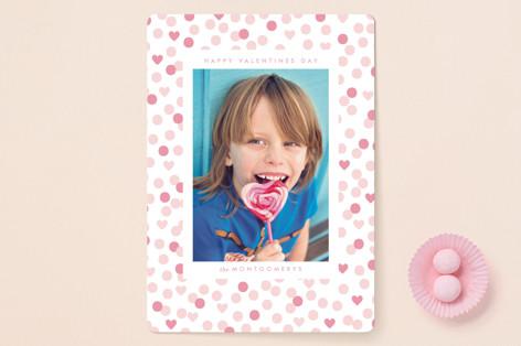 valentine confetti Valentine's Day Cards