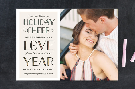 Love for the Year Valentine's Day Cards