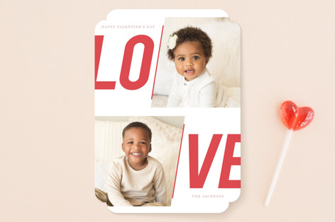 Bold Love Valentine's Day Cards