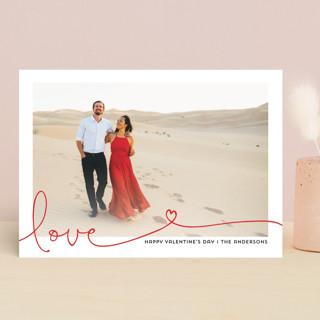 Heart swirl Valentine's Day Cards