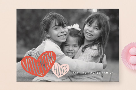 Hugs and Hearts Valentine's Day Cards