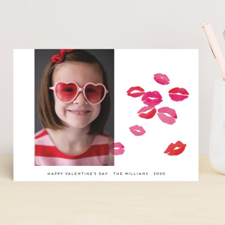 Kisses Valentine's Day Cards